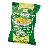 BAULE VOLANTE Bio Mais Chips All'Olio Extra Vergine 50 g